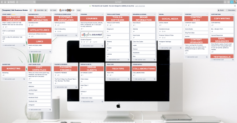 Business Binder Trello Board
